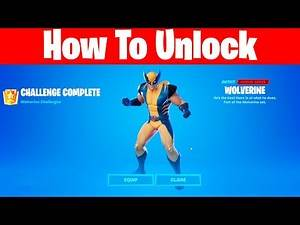 The Easiest Method To Kill Wolverine boss and unlock Wolverine skin in Fortnite Battle Royale