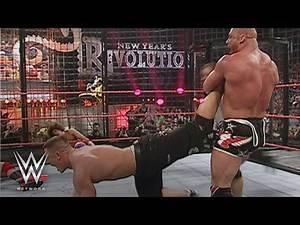 WWE Network: Cena, Angle, HBK, Kane, Masters & Carlito vie for WWE Title: New Year's Revolution 2006