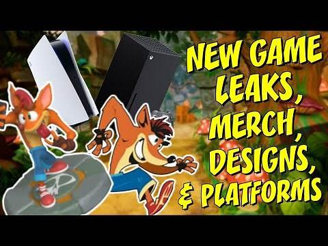 New Crash Bandicoot Game Leak - Merch, Platforms & New Design!