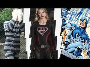Jerome In Gotham 4x11 Overgirl Controlled By Red Kryptonite The Flash Season 4 Blue Beetle