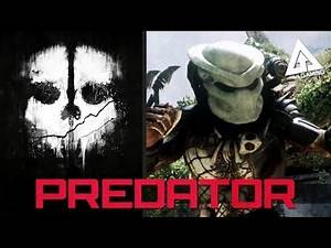 "Call of Duty Ghost Easter Egg - RUINS ""PREDATOR Gameplay"" (COD Ghost Devastation DLC)"