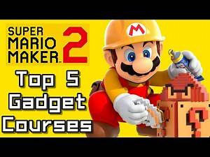 Super Mario Maker 2 Top 5 GADGET Courses (Switch)