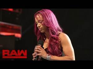 Sasha Banks addresses her back injury Raw Sept 5 2016