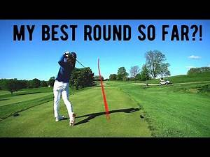 18 HOLES AT PHILADELPHIA COUNTRY CLUB | INSANE Recovery Shot | One Of My BEST Rounds EVER
