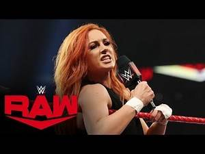 Becky Lynch vows pain for Sasha Banks at WWE Hell in Cell: Raw, Sept. 30, 2019
