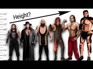 WWE Top 7 Tallest Wrestlers of All Time - Giant Wrestlers 2020