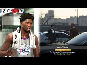 NBA 2K18 MyLEAGUE/ MyGM! BRAND NEW STORY MODE CUTSCENES AND MORE!!