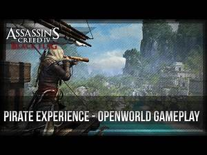 Assassin's Creed 4 Black - Open World Gameplay - Pirate Experience 1080p