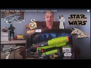 thefun4 NERF Star Wars Rogue One Imperial Death Trooper Deluxe Blaster