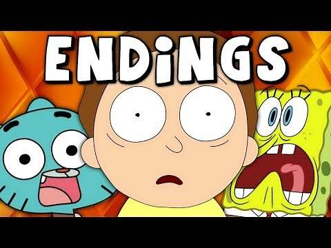 Top 10 DARKEST Cartoon Episode Endings
