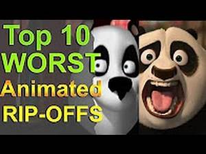 Xaldin Reacts to Top 10 Worst Animated Rip Offs