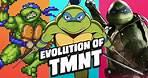 Evolution of TMNT Games (1989-2021)