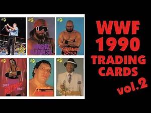 1990 WWF Classic trading cards SERIES 2 review!