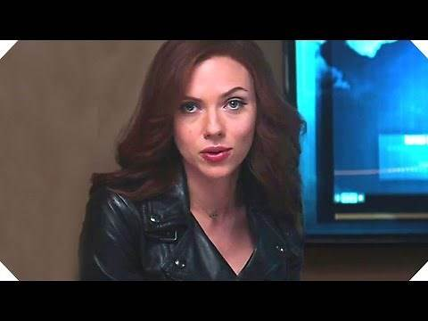 """CAPTAIN AMERICA CIVIL WAR Deleted Scene - """"Black Widow & Panther"""" - Blu Ray Movie Clip"""