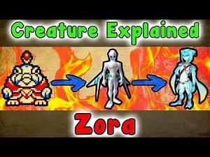 Legend Of Zelda - Zora Creatures EXPLAINED!