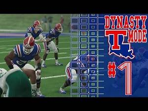 NCAA 14 Dynasty Mode | Second Season | LouisianaTech #1
