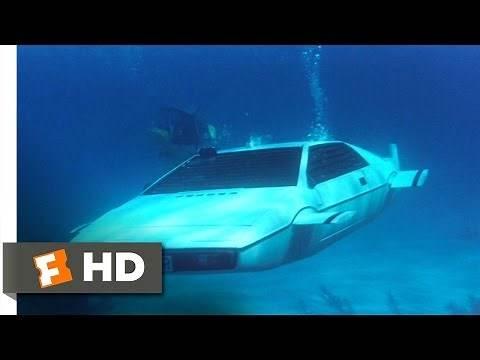 The Spy Who Loved Me (6/10) Movie CLIP - Submarine Car (1977) HD
