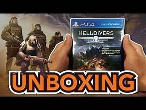 Helldivers Super-Earth Ultimate Edition (PS4) Unboxing !!