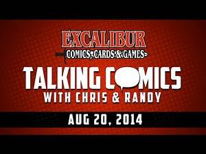 Talking Comics for 08.20.14 - Fade Out #1, Multiversity #1, The Strain: The Night Eternal #1 & More!