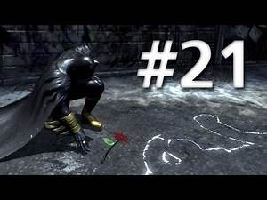 Road To Arkham Knight - Batman Arkham City - Walkthrough - Part 21 - Crime Alley