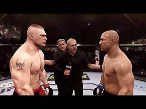 Brock Lesnar vs. Mark Coleman - EA Sports UFC - Hardcore Fighters 🤘🏼