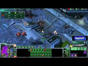 Starcraft 2 HD: Skew v NrG.ostojiy on Metalopolis