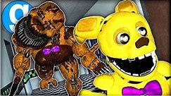 Nightmare Fredbear Is Down The Hall Chasing SpringBonnie! - Gmod FNAF