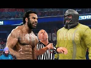 Jinder Mahal vs Jugernaut NO DQ Match
