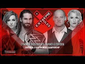 WWE EXTREME RULES 2019 MATCH CARD PREDICTIONS