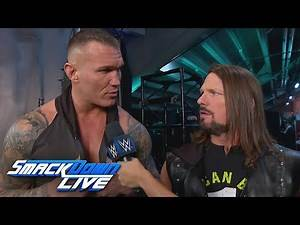 Randy Orton questions AJ Styles' intensity: SmackDown LIVE, March 5, 2019