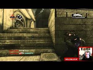 Gears of War 3 Forces of Nature DLC Map Pack - Jacinto (Live Guardian Gameplay)