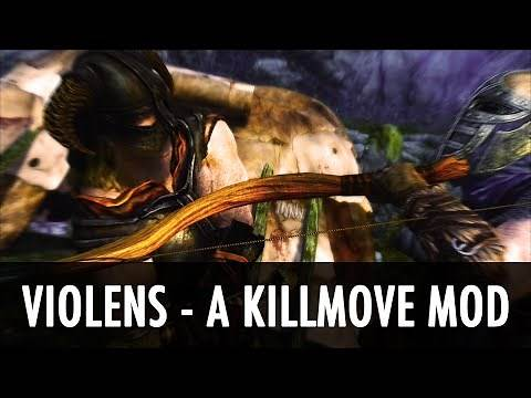 Skyrim Mod: Violens - A Killmove Mod