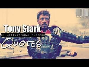 17 Motivational Success Quotes By Tony Stark The Iron Man