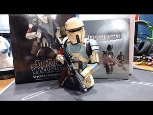 Star Wars Rogue One Shoretrooper Mini Bust by Gentle Giant Unboxing