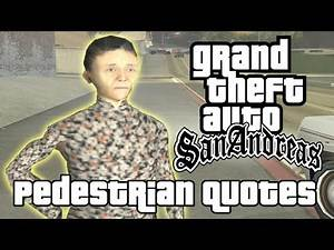 GTA San Andreas Pedestrian Quotes : San Fierro Old Asian Female (#SOFOST)