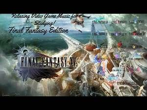 Relaxing and Atmospheric Video Game Music (5 hours) - Final Fantasy Edition. (Vol. 2)