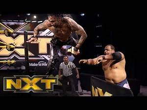 Keith Lee vs. Damian Priest – NXT North American Championship Match: WWE NXT, April 29, 2020