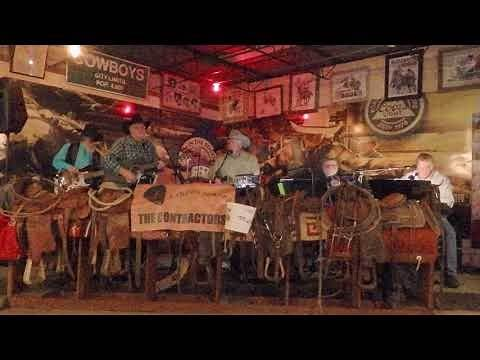 """The Contractors"" Band Performs ""Carmelita"" to Sold Out Crowd at Stockyards Steakhouse"