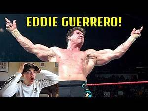 NEW WWE FAN REACTS TO EDDIE GUERRERO FOR THE FIRST TIME! | R.I.P EDDIE GUERRERO 🙏🏻