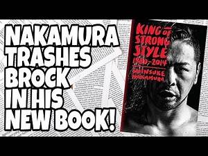 News | Shinsuke Nakamura Trashes Brock Lesnar In His New Book!!!
