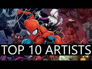 Top 10 Comic Artists! - 2019/2020 List - DC - MARVEL - IMAGE - BOOM!