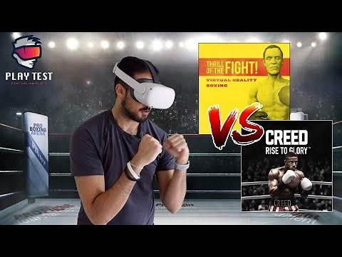 VR Boxing Title Fight - Creed vs Thrill of the Fight on Oculus Quest 2