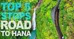THE ROAD TO HANA | Top 5 Stops | Everything you need to know!
