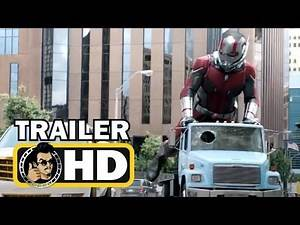 ANT-MAN 2: ANT-MAN AND THE WASP (2018) All Trailers & TV Spots - Marvel Superhero Movie HD