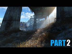 Let's Play Fallout 4 - Part 2 - Ultra 1080p 60 fps - Enhanced Wasteland Preset and more