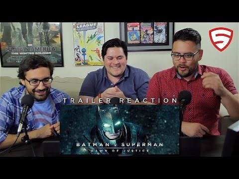 Batman v Superman: Dawn of Justice - Official Teaser Trailer Reaction!