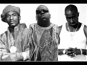 Old School rappers freestyle compilation ( 2PAC, BIG, RAKIM, ETC) RAP FREESTYLE