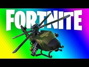 FORTNITE EXTREME HELICOPTER BATTLE!