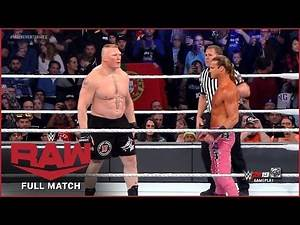 FULL MATCH - Brock Lesnar vs. Dolph Ziggler : RAW, Oct 16, 2019