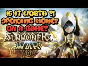 Summoners war Is it worth to spend money on a game?